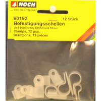 Noch HO Clamps 12Pce @ 5/9.5/ 16mm