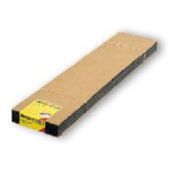 Noch HO Track Bed Extra Wide 60 x 12.5 x .5cm 6pce