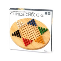 Chinese Checkers Solid Wood