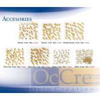 OcCre Rings 6mm 100Pces OC-17006