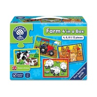 Orchard Jigsaw - Farm Four In A Box