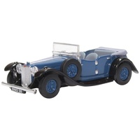 Oxford 1/76 Alvis Speed Twenty Royal Blue