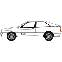 Oxford OO Audi Quattro Alpine White 76AQ002