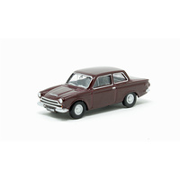 Oxford 1/76 Ford Cortina Mkl Black Cherry