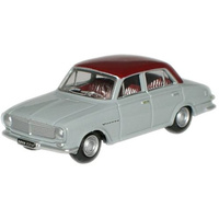 Oxford HO Vauxhall FB Victor Red over Grey OXF-76FB001