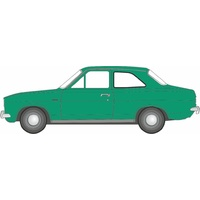 Oxford 1/76 Ford Escort Mk1 Modena Green