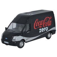 Oxford HO Ford Transit LWB High Roof Coke Zero OXF-76FT017CC