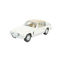 Oxford 1/76 Jensen Interceptor White/Tan