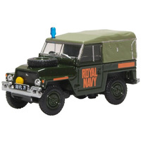 Oxford OO Royal Navy Land Rover Lightweight Diecast 76LRL009