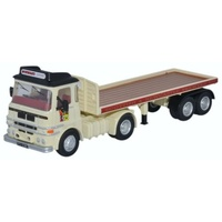 Oxford 1/76 ERF LV Flatbed Trailer Scottish & Newcastle