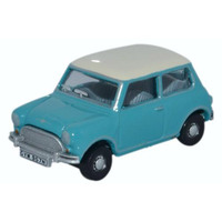 Oxford HO Mini Surf Blue Old English White