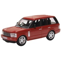 Oxford 1/76 Range Rover 3rd Generation Alveston Red Diecast