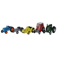 Oxford HO Tractor Set (5 Pc)