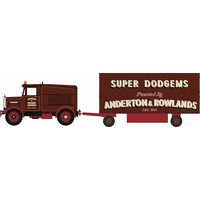 Oxford HO Scammell Showtrac & Dodgem Trailer
