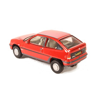 Oxford 1/76 Vauxhall Astra MkII Red