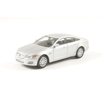 Oxford 1/76 Jaguar XJ Saloon Rhodium Silver