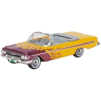 Oxford 1/87 Chevrolet Impala Convertible 1961 Hot Rod