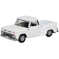 Oxford 1/87 Chevrolet Step-side Pick-up '65 White
