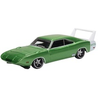 Oxford 1/87 Dodge Charger Daytona 1969 Bright Green/white Diecast