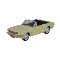 Oxford HO 1965 Ford Mustang Convertible Springtime Yellow