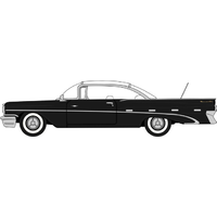 Oxford HO Regent Black and White Pontiac Bonneville Coupe 1959 87PB59004