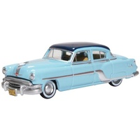 Oxford 1/87 Pontiac Chieftain 4 Door 1954 Mayfair Blue/san Marino B Diecast