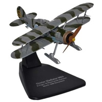 Oxford 1/72 Finnish Gloster Gladiator With Skis F1 19 Diecast AC056