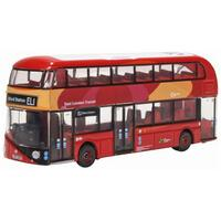 Oxford N Scale New Routemaster East London Transit Diecast NNR008
