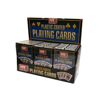 Playing Cards - Plastic Coated 044482
