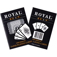 Royal Plastic Coated Single Playing Cards PC310019
