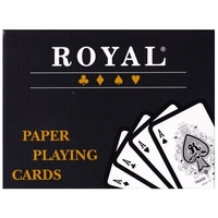 Royal Plastic Coated Double Playing Cards PC310088