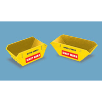 Peco HO Modelscene Skips (Large and Small)- Skip Hire