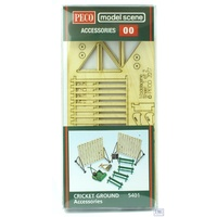 Peco HO Modelscene Cricket Ground Accessories