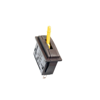 Peco Lever Operated Passing Switch-Yellow