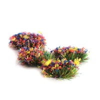 Peco 4mm Self-Adhesive Grass Tufts Flowers X 100