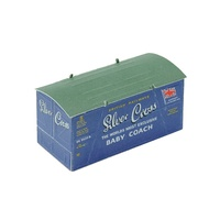 Peco HO Container Silver Cross Blue