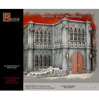 Pegasus 4923 28mm Gothic City Building Large Set
