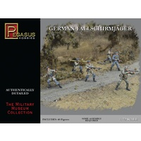 Pegasus 1/72 German Fig Fallschirmjager (40) PEG-7224