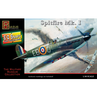 Pegasus 8410 1/48 Spitfire Mark I, snap kit
