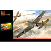 Pegasus 8412 1/48 Messerschmitt Bf-109E4, snap kit