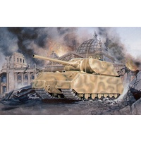 Pegasus Hobbies 1/72 Maus Super Heavy German WWII Tank Plastic Model Kit