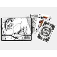 Piatnik M.C. Escher Left & Right Playing Cards PIA2514