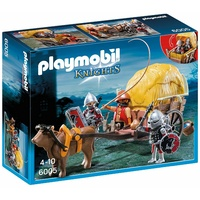 Playmobil - Hawk Knights with Camouflage Wagon