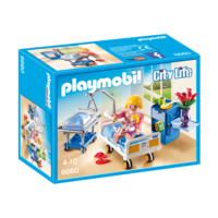 Playmobil - Sick room with baby crib