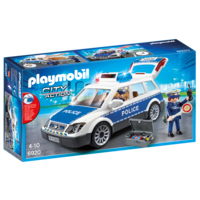Playmobil - Police Car with Lights and Sound 6920
