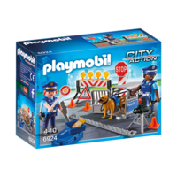 Playmobil - Police Roadblock 6924