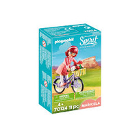 Playmobil - Maricela with Bicycle 70124