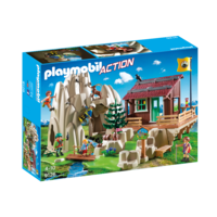 Playmobil - Rock Climbers with Cabin