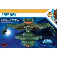 Polar Lights 1/350 Star Trek Klingon Ktinga Plastic Model Kit POL950M