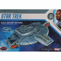 Polar Lights 1/1000 Star Trek U.S.S. Defiant Plastic Model Kits POL952